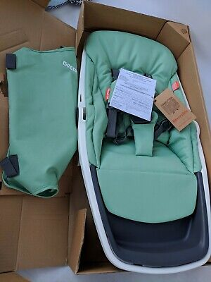 Greentom Reversible Stroller SEAT AND UNDERSEAT BASKET ONLY White/Mint