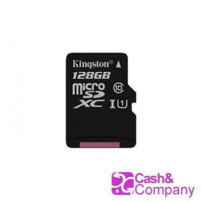 Kingston SDCS/128GBSP - MicroSD Canvas Select 128 GB, velocidades de UHS-I #5865