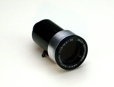 Lens for 8mm Bauer Film Projector Vario Kiptagon 1: 1,3/16,5 -30 Isco