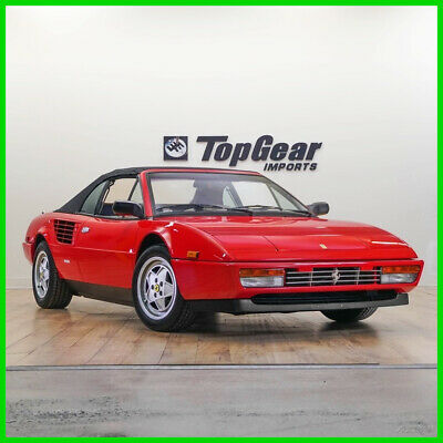 1988 Ferrari Mondial 1988 Ferrari Mondial 1988 Ferrari Mondial 5-Speed Convertible Rare Low Mileage Example