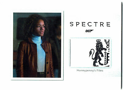 James Bond Archives 2016 Relic Prop Card MR4 Moneypenny's Files #107/150 Spectre
