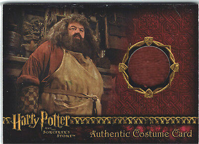 Harry Potter Sorcerer's Stone SS Costume Card Robbie Coltrane as Hagrid #016/710