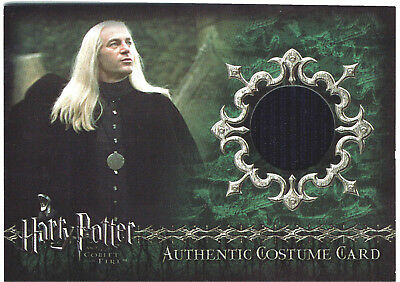 Harry Potter Goblet of Fire Update Gof Costume Card C1 Lucius Malfoy 129/475