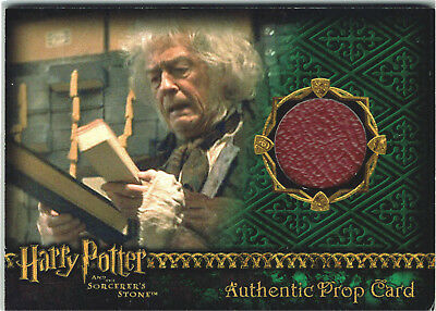Harry Potter Sorcerer's Stone SS Prop Card Wand Box 027/842