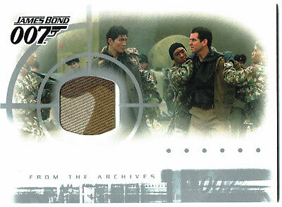 James Bond Die Another Day Casetopper Costume Relic Card AC1 (multi colour)