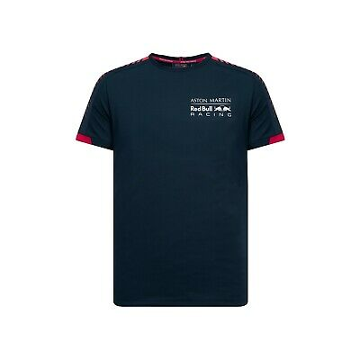Aston Martin Red Bull Racing Official Men's 'Seasonal' T-shirt - 2019 - Blue
