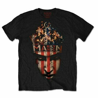 Marilyn Manson 'Crown' T-Shirt - NEW & OFFICIAL
