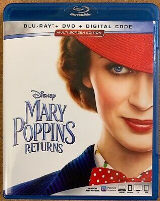 Disney Mary Poppins Returns Blu Ray 1 Disc Only Free World Wide Shipping Buy It
