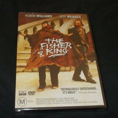 The Fisher King Dvd Brand New & Sealed Region 4  Robin Williams