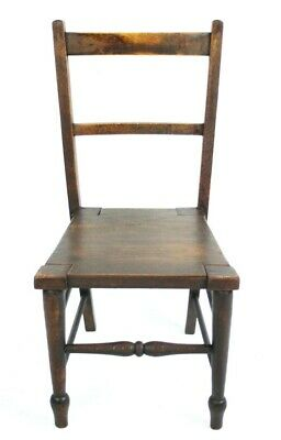 Vintage Child's Chair Made from Australian Butter Import Box  [PL4896]