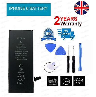 Genuine Original Replacement Battery for iPhone 6 6g 1810mAh with tools kit gmz