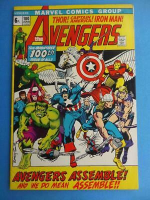 Avengers 100 1972 Classic Barry Smith! F/vf