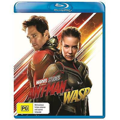 Ant Man And The Wasp Blu-Ray New & Sealed, 2018 Release, Free Post