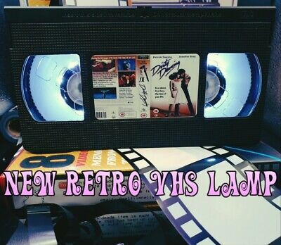 Retro VHS Lamp,Dirty Dancing,Night Light Stunning Collectable, Top Quality!
