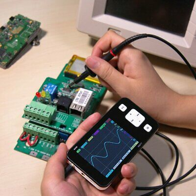 Mini Pocket DS211 ARM DSO Digital Oscilloscope 1 MSa/s 200kHz TFT LCD Display ES