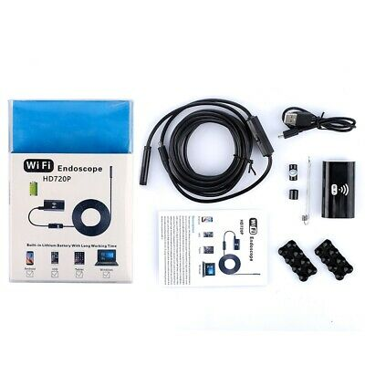 HD720P USB Endoscope Camera Wifi Endoscope Borescope For Android IOS Phones