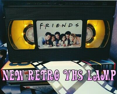 Retro VHS Lamp,Friends,Night Light Stunning Collectable, Top Quality!Amazing
