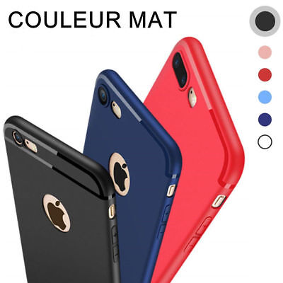 Coque Silicone Antichoc Protection Pour Apple Iphone 6 6S 7 8 Plus Se 5S Xs Max