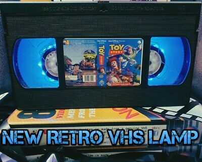 Retro VHS Lamp,Toy Story Woody Buzz,Night Light Stunning Collectable, Top LOOK