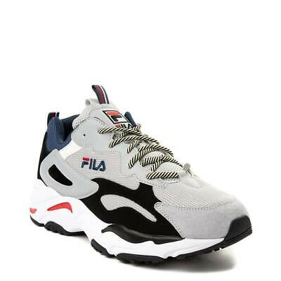 dde1c34f9d87 FILA RAY TRACER Men s Disruptor Sneakers Shoes - White Black Red ...