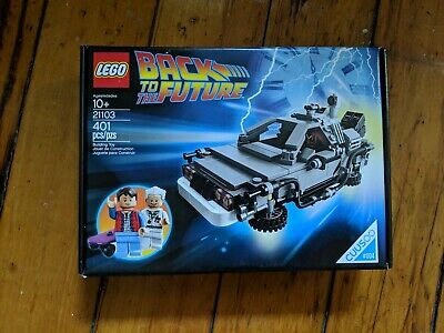 LEGO 21103 Back To The Future DeLorean Time Machine Building Set NEW Retired!!