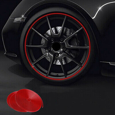8M Motor Car Reflective Wheel Hub Tire Rims Protective Sticker Decal Accessories