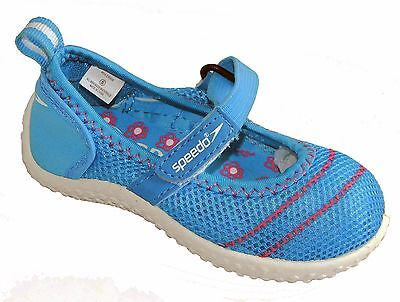 3ae6897a9232 SPEEDO JUNIOR GIRLS Mary Jane Water Shoes - Gray Pink Size Large 4-5 ...