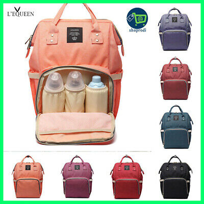 Nappy Backpac Multi-function Waterproof Outdoor Travel Diaper Bags For Baby Care