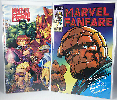 Marvel Fanfare 15 (1984) Marvel Mangaverse Eternity Twilight #1 (2002) Comic Lot