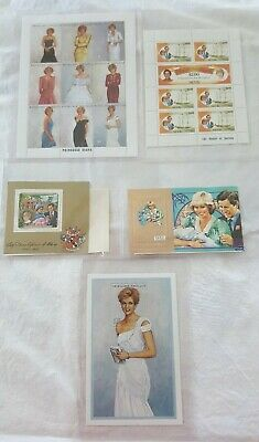 Princess Diana Stamp Collection With COA On Each - All Limited Editions