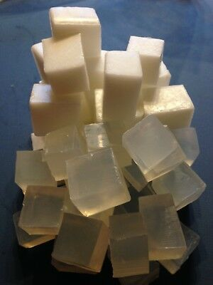 10KG! (5KG EACH) WHITE/CLEAR Melt and Pour Soap Base SLS Free