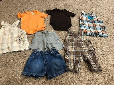 Baby Boys Summer Spring Mix And Match Lot Size O/3 Months