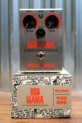 Dunlop Way Huge WHE206 Red Llama 25th Anniversary Overdrive Guitar Effect Pedal