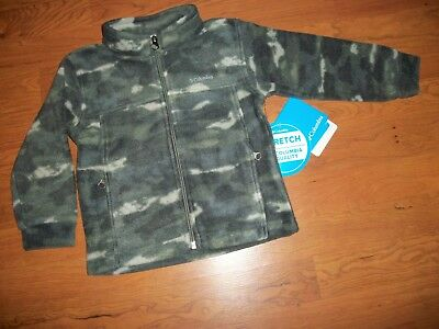 3891d98f8702 COLUMBIA BABY BOYS  Zing III Fleece Jacket Cypress Camo 12 Months ...