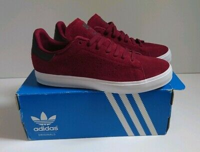 new style 70e18 db926 Adidas Stan Smith Vulc Size UK 6 Red burgundy New In Box