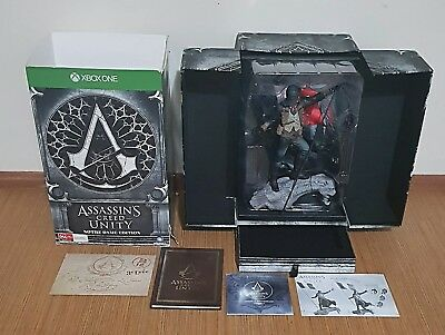 Assassins Creed Unity Notre Dame Edition Xbox One, Statue Collectors edition