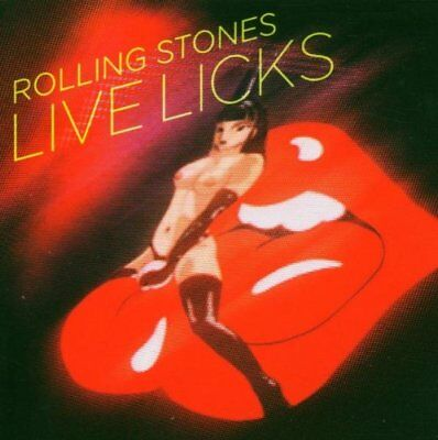 Used The Rolling Stones Live Licks 2009 ReMastered Album Music Japan CDs