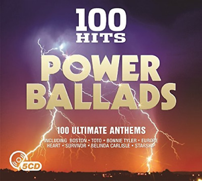 Various Artists-100 Hits - Power Ballads (US IMPORT) CD NEW