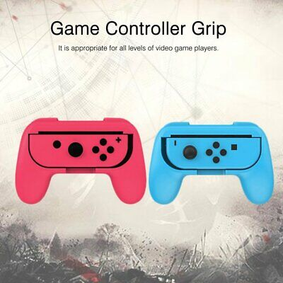 TNS-851B 2PCS Portable Game Console Joy-con Grips For Nintendo Switch Joy-conS@