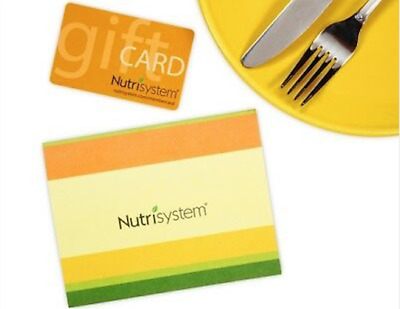 $100 Nutrisystem Gift Card SUPER FAST FREE SHIPPING!!!