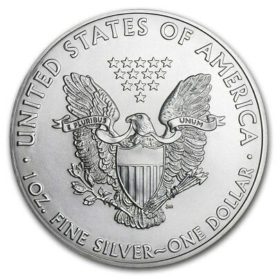 WALKING LIBERTY AMERICAN EAGLE 1oz SILVER 2011 BULLION INVESTMENT COIN #542