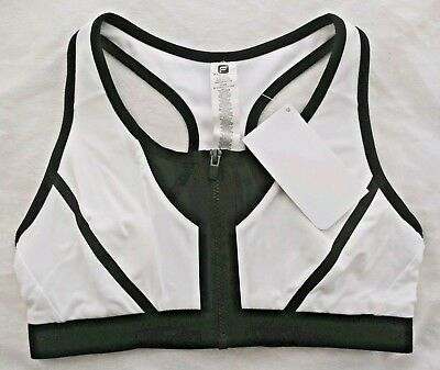 64feb8add80 Fabletics Athletic Emmy High Support Sports Bra White Kate Hudson Small S 6