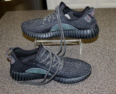 watch d6817 9f5ca Adidas 2015 Yeezy Boost 350 Pirate Black Athletic Sneakers Men s 8 1 2