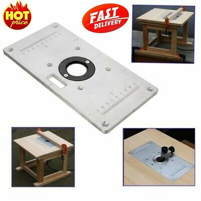 ⟦NEW⟧ 235mm x 120mm x 8mm Aluminum Router Table Insert Plate For Wood Working