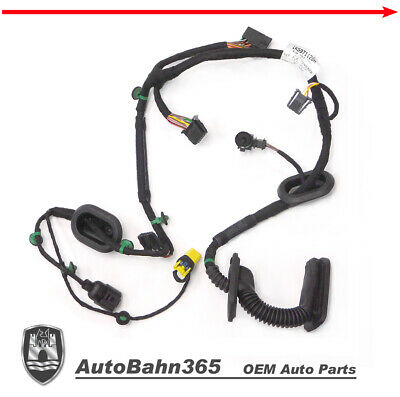new genuine oem vw drivers door wiring harness jetta 2005 5-2006 left side  front