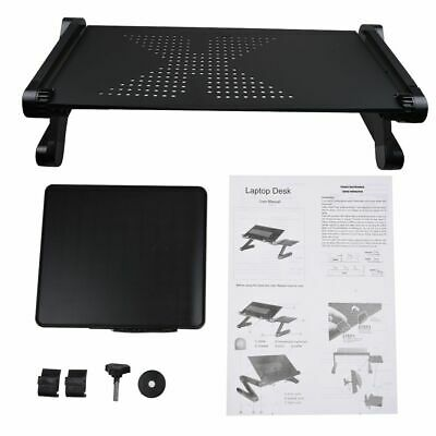 Portable Foldable Laptop Stand Desk Table Adjustable Bed Sofa Tray w/ Mouse Pad