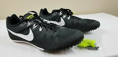 fabc15d0512 Nike Zoom Rival M 8 Men s Track Sprint Spikes 806555 017 Black Size 12.5