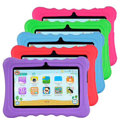 "XGODY Tablet PC Android 8.1 7"" 8GB Quad Core HD Bundle Case No.29 No.74 for Kids"