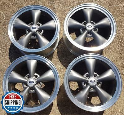 2005 Mustang Wheels >> Ford 2005 2009 Mustang Factory Oem Wheel Set 17 Rims 3589