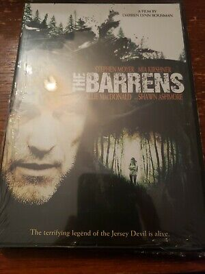The Barrens (DVD, 2012) Rated R Movie Horror Stephen Moyer, Mia Kirshner @@@@@@@